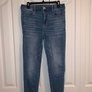 American Eagle Next Level Stretch Blue Jeans